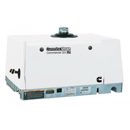Cummins Onan Commercial Series QG5500 5.5kW EFI Gasoline Mobile Generator (120 Volt Only)