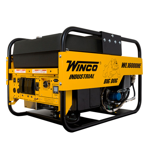 WINCO WL16000HE-03/A 14000W Electric Start Portable Generator