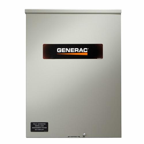 Generac RXSW150A3 150A 1Ø-120/240V Service Rated Nema 3R Automatic Transfer Switch