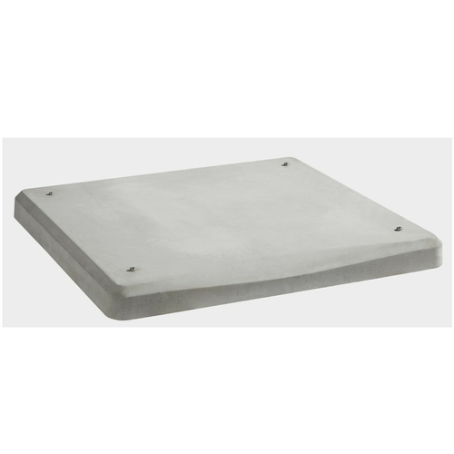 """Kohler GM92228-KP1 3"""" Thick Concrete Mounting Pad for 8, 10 & 12kW Air Cooled Generators"""