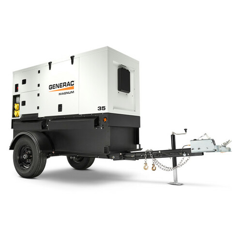 Generac MMG35DF4 27/29kW Mobile Diesel Generator with Isuzu Engine