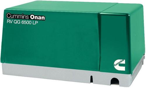 Cummins Onan 6.5HGJAB-1272 QG 6500W Propane RV Generator