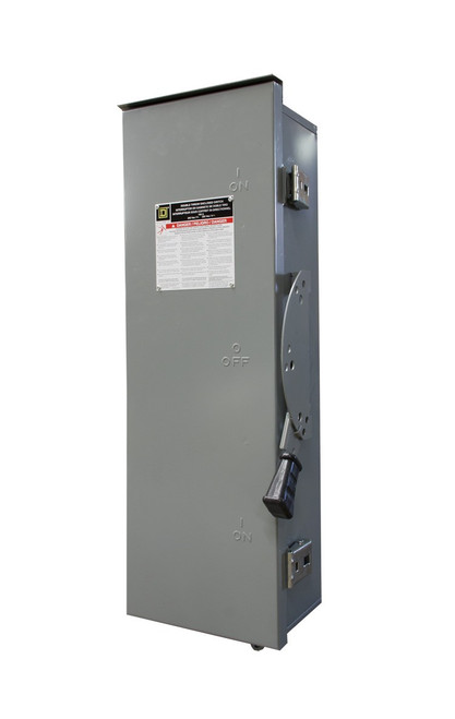 WINCO 64863-009 100A 3-Phase 208/240V 3-Pole NEMA 3R Manual Transfer Switch