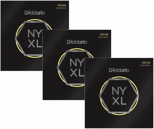 D'Addario NYXL0946 3-pack