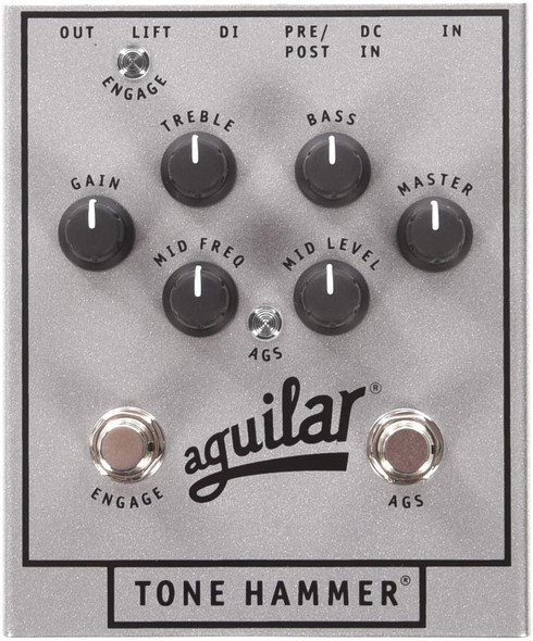 Aguilar 25th Silver Anniversary Edition Tone Hammer Preamp/D.I.