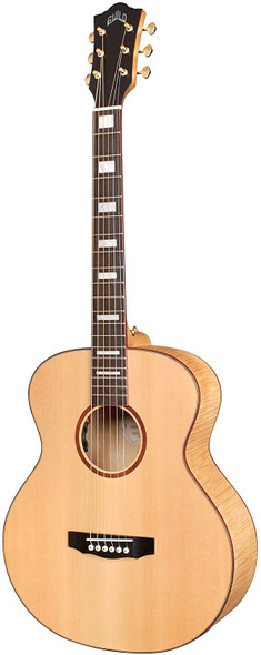 Guild Guitars Jumbo Jr Reserve Maple Acoustic Guitar, Antique Blonde, Reserve Solid Top , Westerly Collection