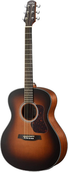 Walden G570ETB Natura Solid Cedar Top Grand Auditorium Acoustic-Electric Guitar - Open Pore Satin Tobacco Burst