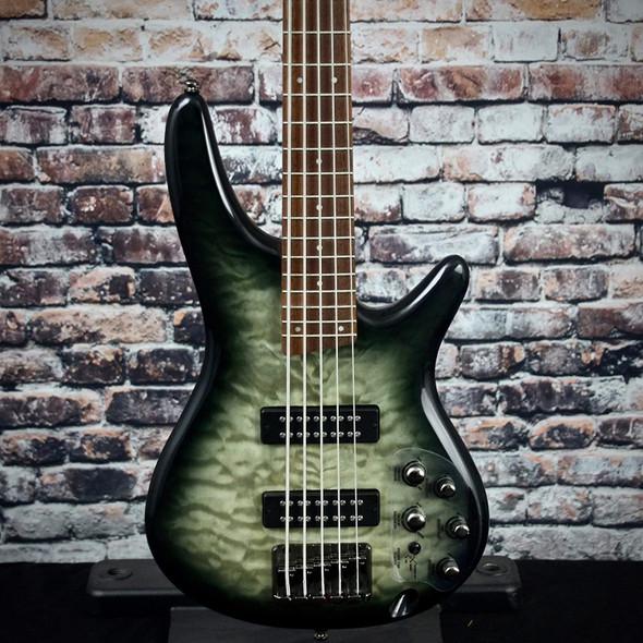 Ibanez Standard SR405EQM Bass Guitar - Surreal Black Burst Gloss