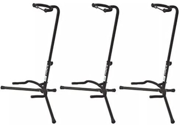 On Stage Stands XCG-4 Classic Guitar Stand (3 Pack)
