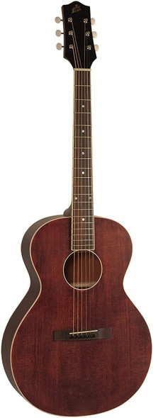 The Loar LH-204-BR Brownstone Small Body Acoustic Guitar