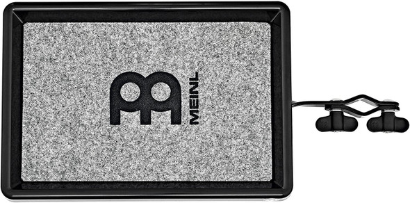 Meinl Table with Fabric Anti-Slip Surface, Small Size - NOT MADE IN CHINA - Angle Adjustable, Strong Mounting Clamp Fits All Common Stands, 2-YEAR WARRANTY (MC-PTXS)