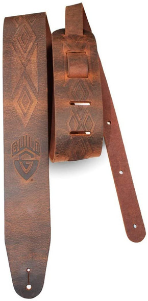Guild Tooled Americana Leather Guitar Strap - 350-0613-050
