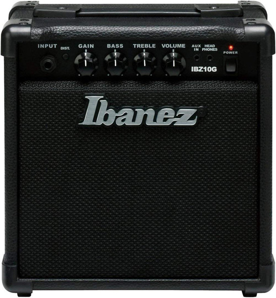 Ibanez, 1 Electric Guitar Mini Amplifier, Black (IBZ10G)