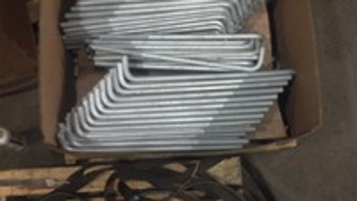 Rush Hot dip galvanized bolts