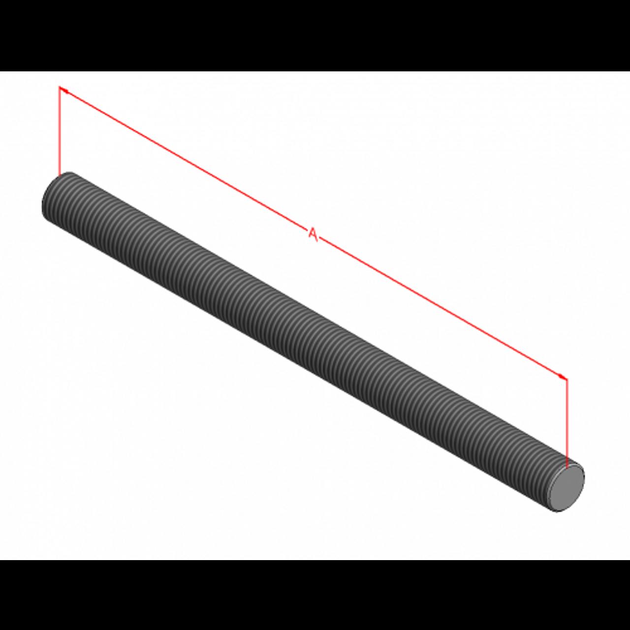 1 2 13 B7 Threaded Rod Plain Anchor Bolt Express