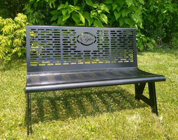 "50"" Classic Series Custom Park Bench"
