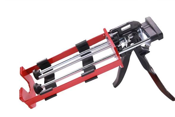 A two-part 400mL epoxy dispensing gun.