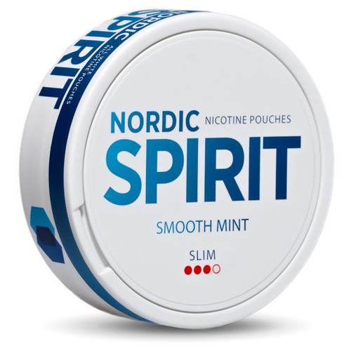 A can of nordic spirit smooth mint