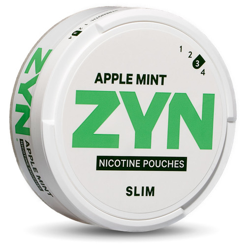 Can of zyn apple mint