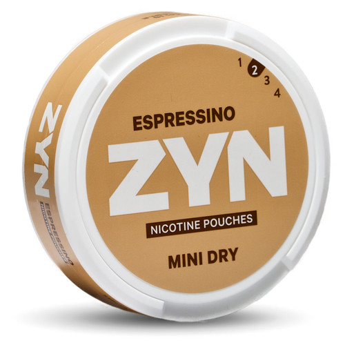 can of zyn espressino mini dry
