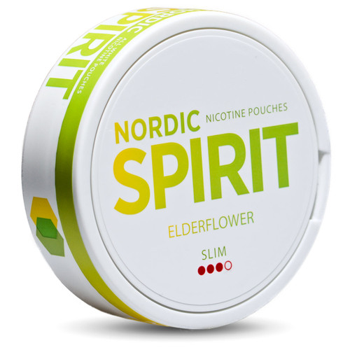 a can of nordic spirit elderflower