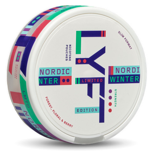 A can of Lyft nordic winter
