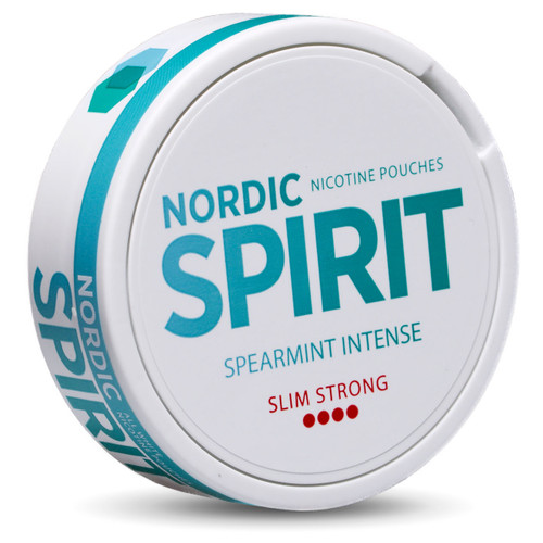 a can of nordic spirit spearmint intense