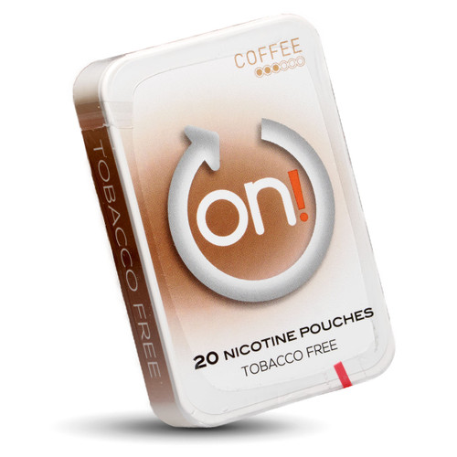 can of On coffee 3mg