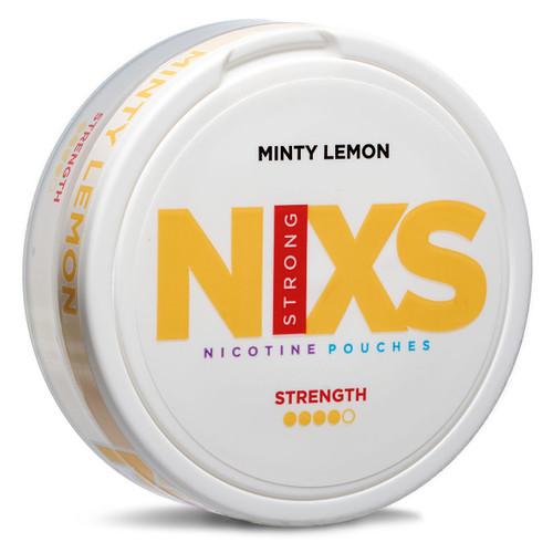 a can of Nixs minty lemon