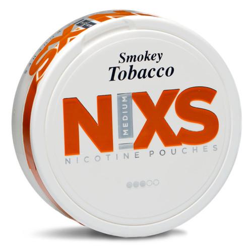 a can of nixs smokey tobacco