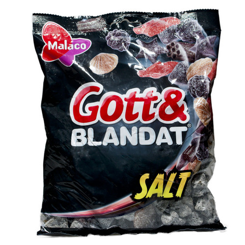 bag of gott and blandat salty
