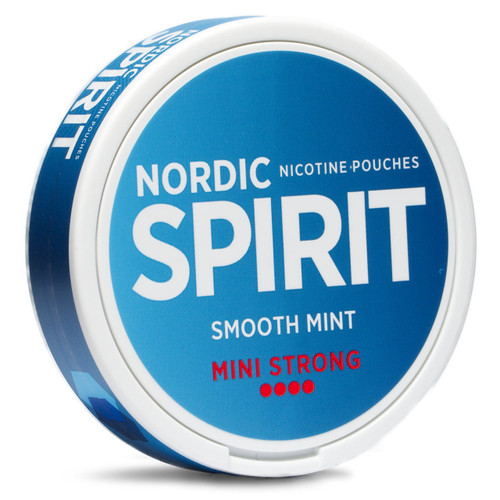 the can of smooth mint mini strong