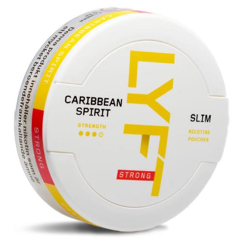 a can of lyft caribbean spirit
