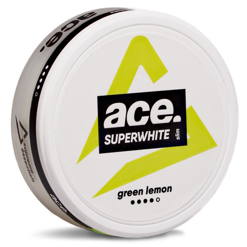 Can of Ace green lemon