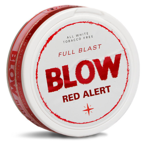 can of blow red alert