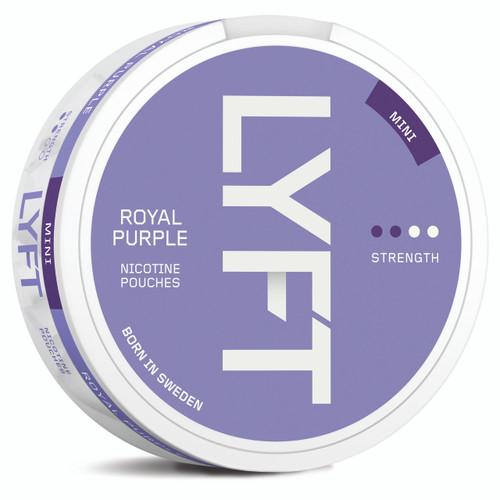 a can of lyft royal purple