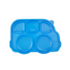 Din Din SMART Stainless Divided Platter Lid Accessory - Blue