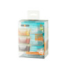 EZ Lock Glass Container / 3 Pack / Rectangle