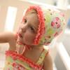 Kinderspel swimsuit with cap & waterbag - FLOWER CLUSTERS