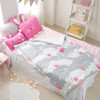 "Cotton Jacquard Quilted Toddler Comforter 41""x51"""