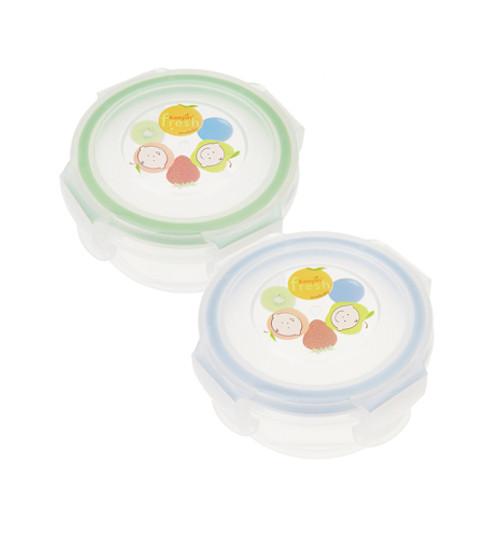 Airtight Baby Food Storage / Round 3 oz / 2 Pack
