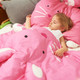 "MILO & GABBY 3D ANIMAL SHAPED BLANKET 39""x51"""