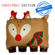 **Limited Edition** Holly Reindeer 3D Pillowcase