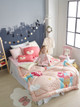 "Cozy Cotton Minky Comforter / Twin size / 57""x70"""
