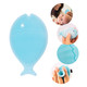Innobaby Bathin' Smart Silicone Mini Fish Scrub with Suction Cup for cradle cap