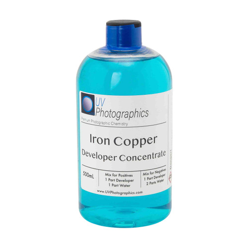 Iron Copper Developer for wet plate collodion photography