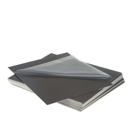 Aluminum Plates for Collodion  Wet Plate Tintypes