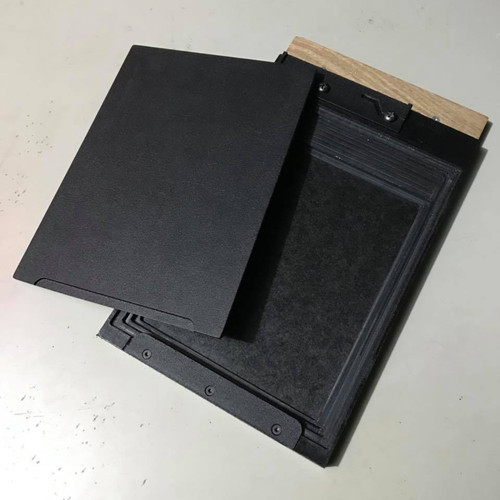 4x5 plate holder for wet plate collodion