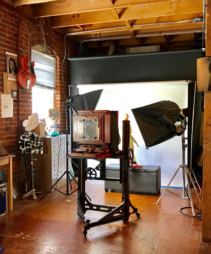 Wet Plate Studio used for Workshop