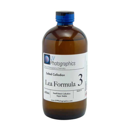 Lea Formula 3 Salted Collodion Premixed 450mL